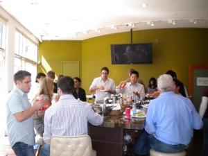Lunch at the Demand Studios Offices