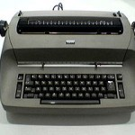 The IBM Selectric - the height of technology for many freelance writers in the '80s.