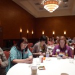 Social Media Breakfast at SXSW - As you can see we're all chatting, just not with each other.