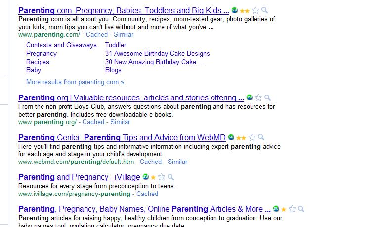 parenting-search-screen
