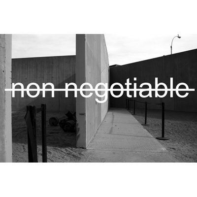 non-negotiable