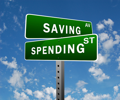 saving spending