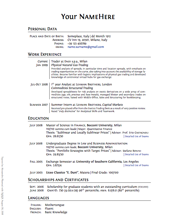 Preparing a freelance writer resume is something that independent    Educational Background In Resume