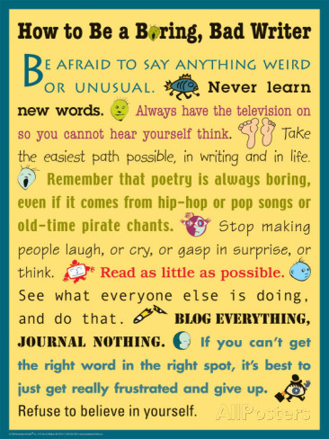 how-to-be-a-boring-bad-writer
