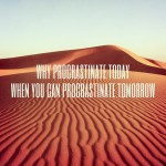procrastinate productively
