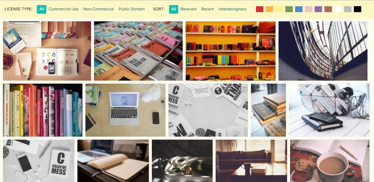 creative commons photos for freelance writers