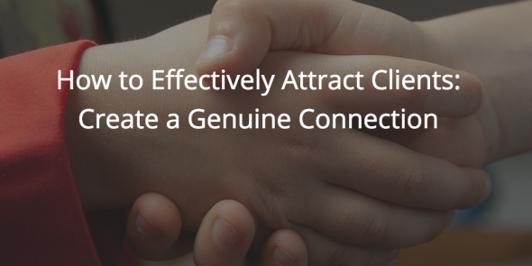 how to effectively attract clients
