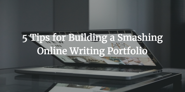 build online writing portfolio