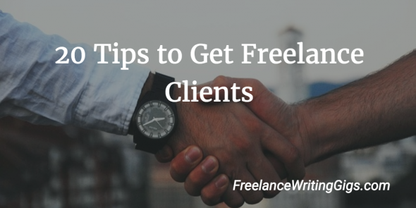 land freelance clients