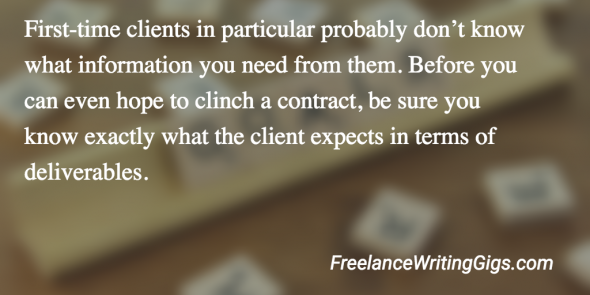 land new freelance clients