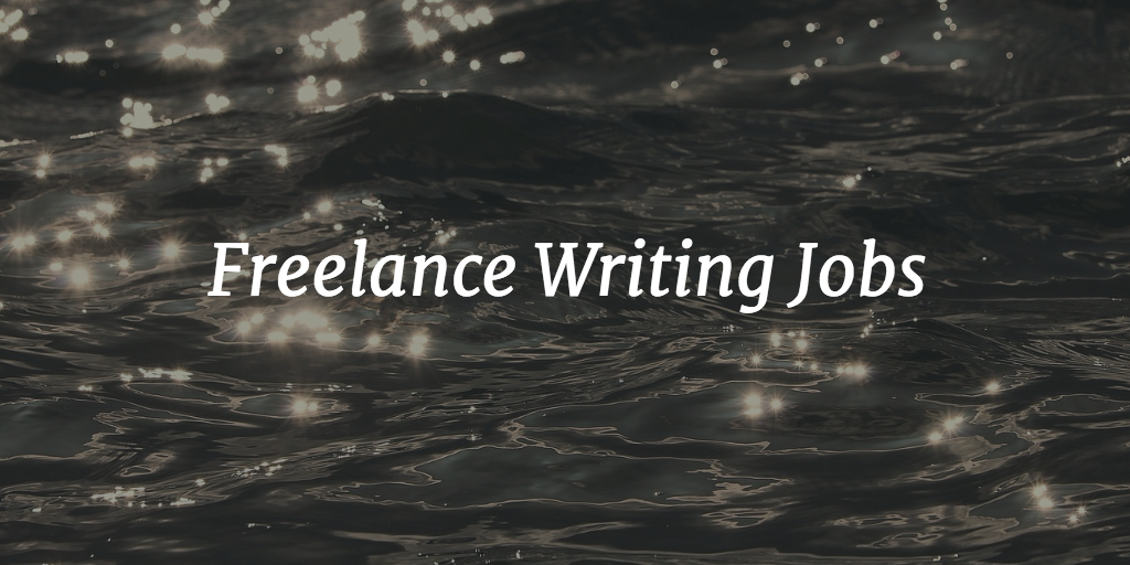 lance writing jobs remote writing jobs