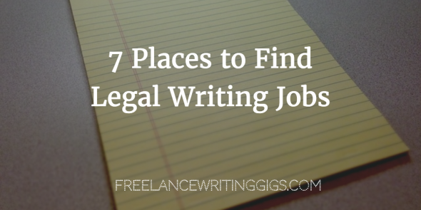 Legal research writing jobs