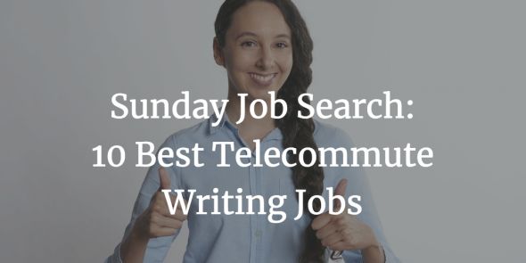 telecommute writing jobs