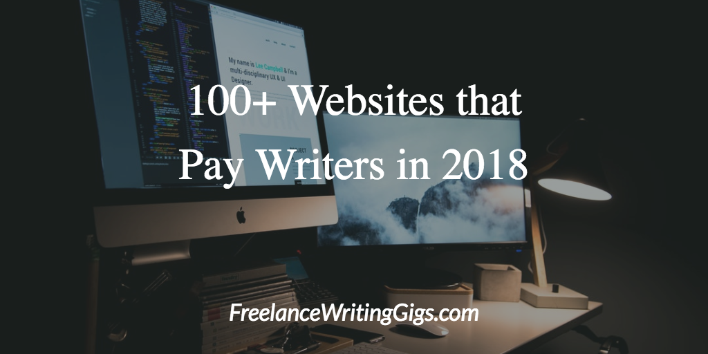 websites that pay you to write